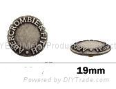 金属喼钮19mm