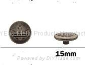 金属喼钮15mm