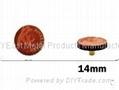 金属喼钮14mm