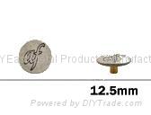 金属喼钮12.5mm
