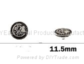 金属喼钮11.5mm