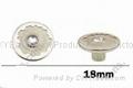 Rhinestone jean button