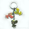 Metal key chain set