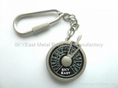 Compass Key Charm for Gifts