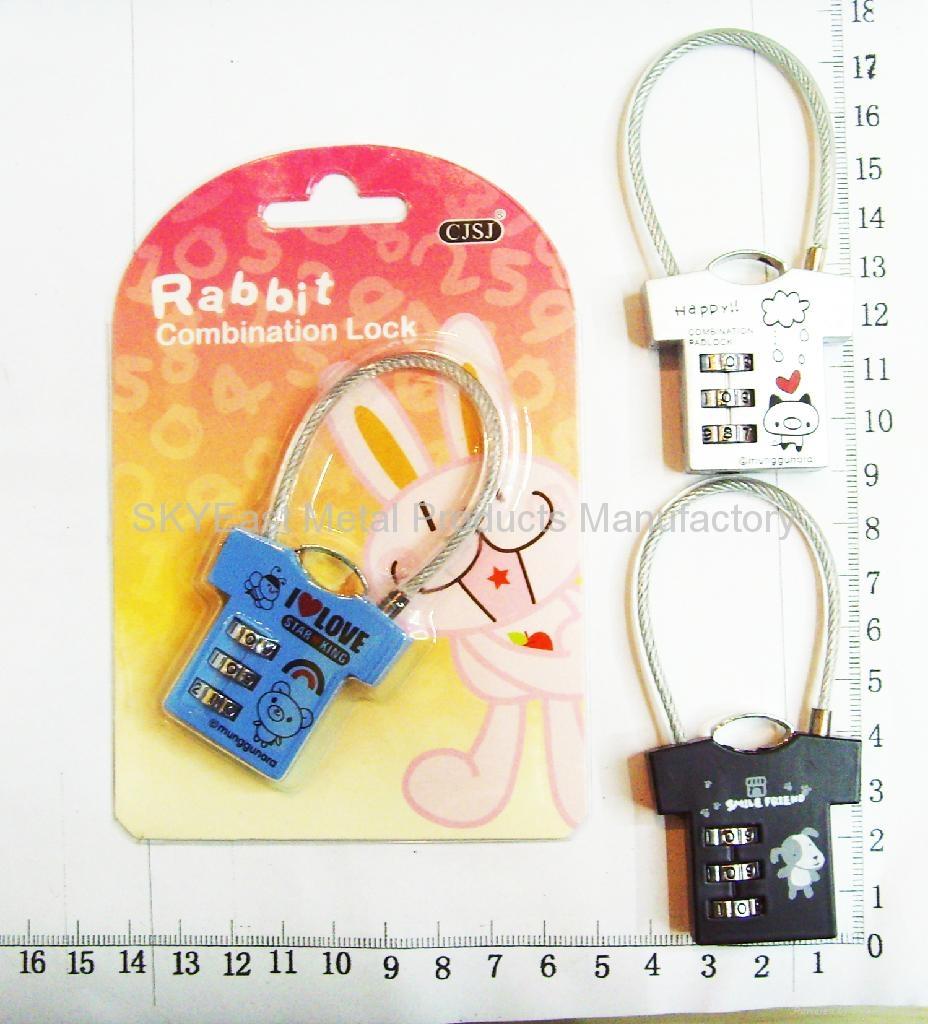 合金密碼鎖贈品 2