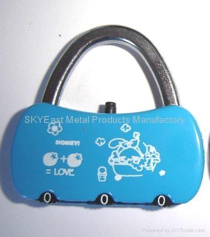 合金密碼鎖贈品 4