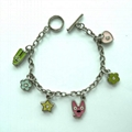 Metal Bracelet Chain with Decals 2
