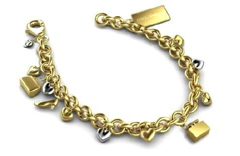 Metal Bracelet with Special Decals  1