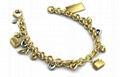 Metal Bracelet with Special Decals