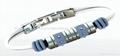 Fashion Metal Bracelet w/Charms