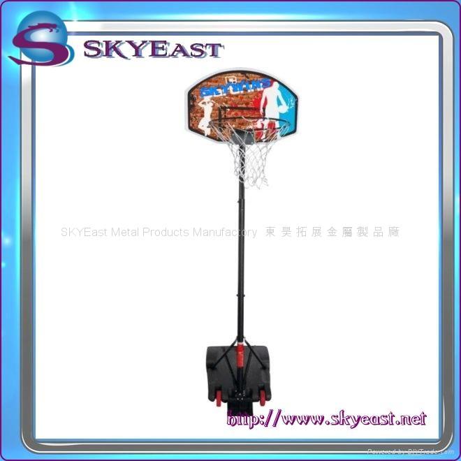 移动篮球架 1