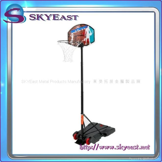 移動籃球架 2