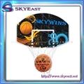 Portable Basketball Stand Backboard Hoop Net Set Height Adjustable With Wheels