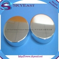 Glossy Silver Oxidation Aluminum Screw Lids with PP Inner for Bottle