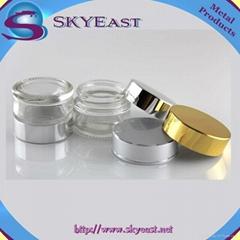 亮金銀色電化鋁蓋