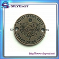 Relief Or Engraved Metal Eagle Logo 5