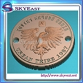 Relief Or Engraved Metal Eagle Logo