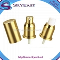 Oxidation Aluminium Screw Perfume Sprayer Pump with Cap