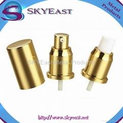 Oxidation Aluminium Screw Perfume Sprayer Pump with Cap