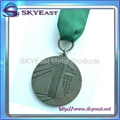Antique Sports Metal Medals with Ribbon