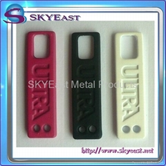 Metal Zip Puller with Rubber Coated
