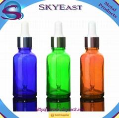 氧化色滴管蓋配玻璃瓶