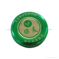 High Quality Printed Logo Twist Off Tin Cap for Bottles
