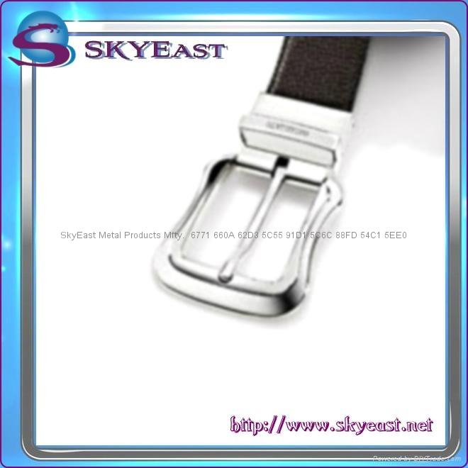 Shiny Metal Adjustable Belt Pin Buckles 6