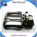 Shiny Metal Adjustable Belt Pin Buckles 1