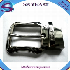 Shiny Metal Adjustable Belt Buckles