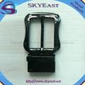 Shiny Metal Adjustable Belt Pin Buckles 3