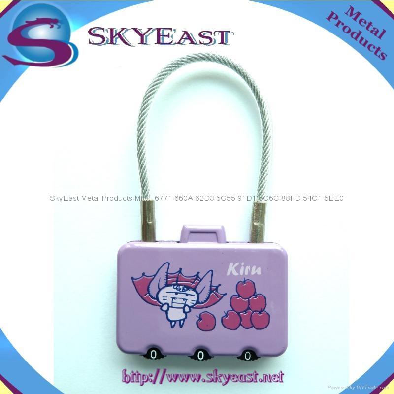 合金密碼鎖 1