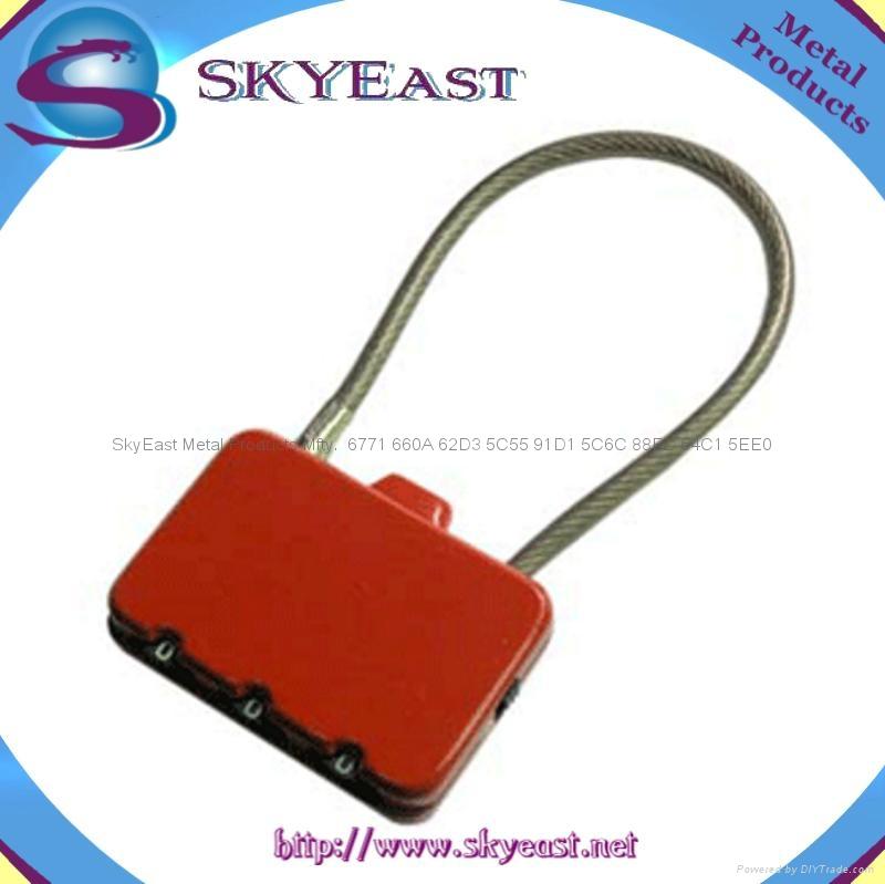 合金密碼鎖 3