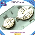 Customized Engraved Logo Metal Pin Badges