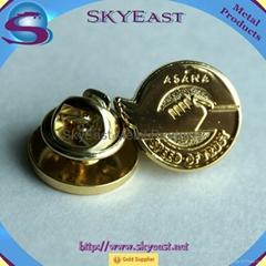 Customized Engraved Logo Metal Pin Badges
