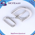 High Polised Shiny Silver Belt Pin Buckles