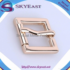 Shiny Polished Copper Pin Belt Buckles