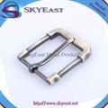 Brushed Antique Brass Belt Pin Buckle