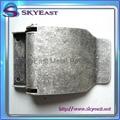 Antique Silver Metal Belt Buckles