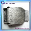 Antique Silver Metal Belt Buckles