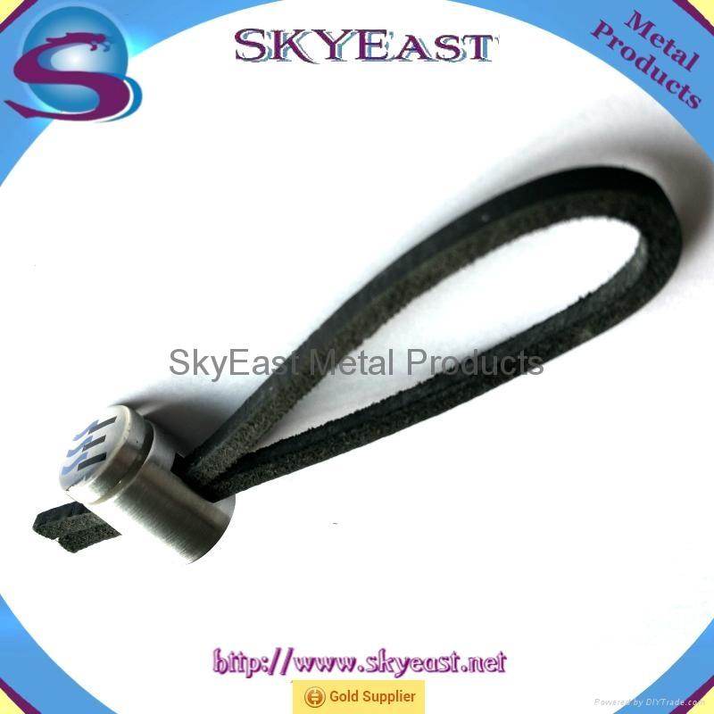 Printed Car Key Chain Pendant with Genuine Loop 6