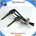 Printed Car Key Chain Pendant with Genuine Loop 3
