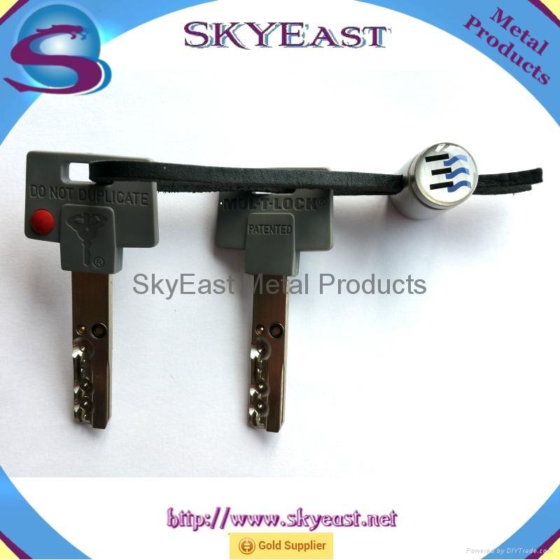 Printed Car Key Chain Pendant with Genuine Loop 7