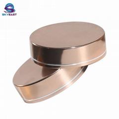 Shiny Aluminum with PP Screw Caps