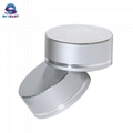 Silver Oxidation Aluminium Lids with Screw PP Inner