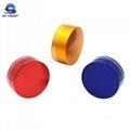 Colorful Oxidation Aluminum with PP Screw Caps