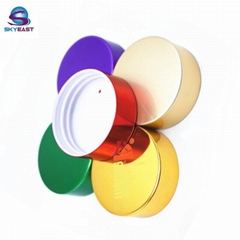 Colorful Oxidation Aluminum with PP Screw Caps