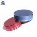Anodized Color Aluminum & PP Screw Caps