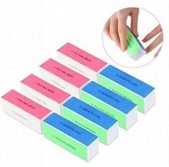Natural Nail Polisher Sanding File Block for Professional Manicure Nail Care DIY