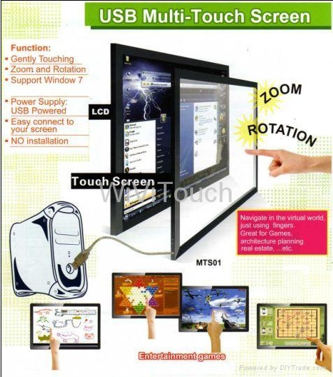 Multitouch screen infrared touch screen 15'' 1